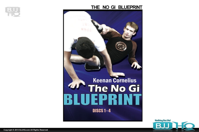 Keenan Cornelius No Gi Blueprint - 4 DVD set
